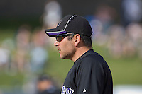 March 13, 2010 - Colorado Rockies' Paul Lo Duca #14 during a spring training game against the Milwaukee Brewers at Maryvale Baseball Park in Phoenix, Arizona.