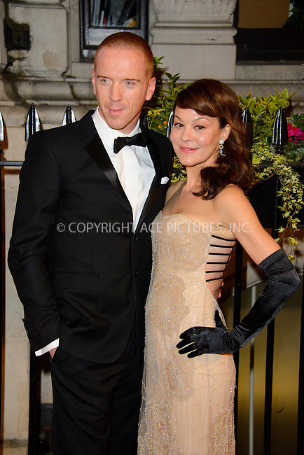 WWW.ACEPIXS.COM<br /> <br /> US Sales Only<br /> <br /> October 8 2013, London<br /> <br /> Damien Lewis and Helen McCrory at BFI Gala Dinner on Northumberland Avenue on October 8 2013 in London <br /> <br /> By Line: Famous/ACE Pictures<br /> <br /> <br /> ACE Pictures, Inc.<br /> tel: 646 769 0430<br /> Email: info@acepixs.com<br /> www.acepixs.com