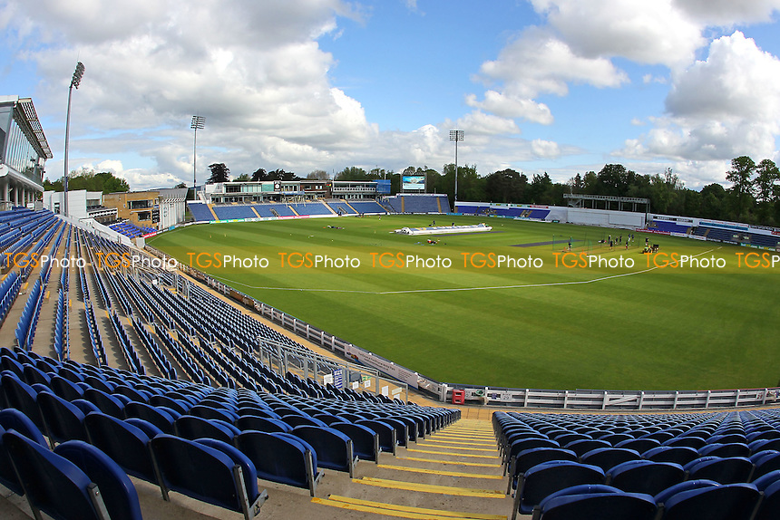 General view of the ground ahead of Glamorgan CCC vs Essex CCC, Specsavers County Championship Division 2 Cricket at the SSE SWALEC Stadium on 23rd May 2016