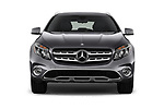 Car photography straight front view of a 2018 Mercedes Benz GLA 250 4MATIC 5 Door SUV