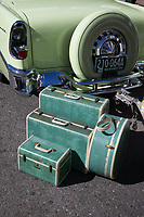 Fenders on Front Street, Vintage Car Show, Issaquah, Washington, USA.