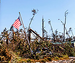 MEXICO BEACH, FL - OCTOBER 16: Hurricane Michael on October 16, 2018 in Mexico Beach, Florida.