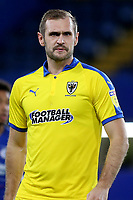 James Hanson of AFC Wimbledon during Chelsea Under-21 vs AFC Wimbledon, Checkatrade Trophy Football at Stamford Bridge on 4th December 2018