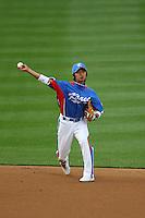 Ki Hyuk Park of Korea during a game against Venezuela at the World Baseball Classic at Dodger Stadium on March 21, 2009 in Los Angeles, California. (Larry Goren/Four Seam Images)