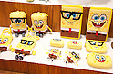 "September 5 2012, Japan - The Bob Sponge Square Pants products exhibit at Gift Show exhibition. The 74th Tokyo International Gift Show brings together 2,400 companies including from China, South Korea, Taiwan and Hong Kong displaying the latest gifts and daily life products, in the biggest international trade show at Tokyo Big Sight. This year the theme of the exhibition is ""Proposing 2012 Future-oriented Relaxation Gifts"". (Photo by Rodrigo Reyes Marin/AFLO).."