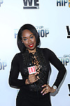 All Hip Hop.com's Seleah Simone at WE TV's Growing Up Hip Hop Premiere Party Held at Haus