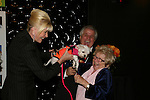 Ivana Trump with puppy and Bash Dibra and Dr. Ruth at the First Annual StarPet 2008 Awards Luncheon as dogs and cats compete for a career in showbusiness on November 10, 2008 at the Edison Ballroom, New York, New York. The event benefitted Bideawee and NY SAVE. (Photo by Sue Coflin/Max Photos