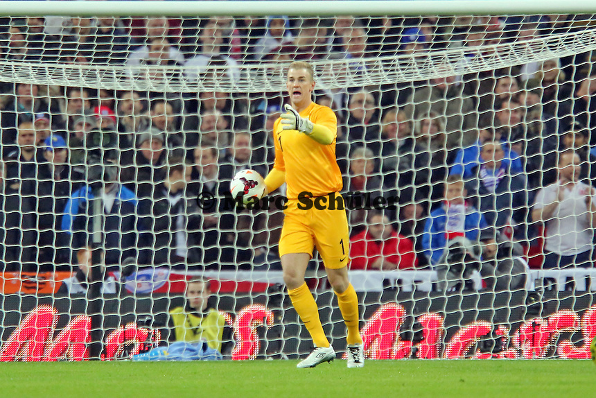 Joe Hart (ENG) - England vs. Deutschland im Wembley Stadium