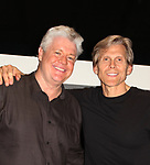 Guiding Light's Michael O'Leary & Grant Aleksander (also All My Children) - LSPAC (Lower Shore Performing Arts Company) presents the Relaunch of Michael O'Leary's BREATHING UNDER DIRT - Heal - Hope - Love - on May 12, 2018 at the Ward Museum of Wildfowl Art - Salisbury University in Salisbury, Maryland.  (Photo by Sue Coflin/Max Photo)