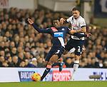 Tottenham's Kyle Walker tussles with Newcastle's Georginio Wijnaldum<br /> <br /> Barclays Premier League- Tottenham Hotspur vs Newcastle United - White Hart Lane - England - 13th December 2015 - Picture David Klein/Sportimage
