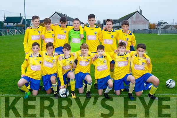 U14's Killorglin Team at the Park v Killorglin at Christy Leahy Park on Saturday