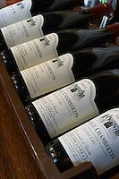 Winery shop. Chapelle Chambertin and Chambertin. Domaine Philippe Livera, Gevrey Chambertin, Cote de Nuits, d'Or, Burgundy, France