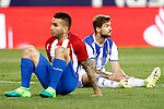Atletico de Madrid's Angel Correa (l) and Real Sociedad's Inigo Martinez during La Liga match. April 4,2017. (ALTERPHOTOS/Acero)
