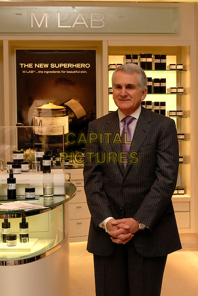 "Dr. IAN SCHULTZ.Scientific Creator at The worldwide launch of new product ""M Lab"" Skincare, in the White Room of Harrods, Kinightsbridge, London, England,13th February 2007..half length.CAP/FIN.©Steve Finn/Capital Pictures."