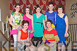 FASHION TIME: The models taking part in the Kilmoyley NS Fashion Show at the Ballyroe Heights hotel on Thursday seated l-r: Emer McCarthy and Mary Brick. Back l-r: Noreen McElligott, Louise Ryan, Shauna Crowe, Marian Gilbride-Godley and Anne Leen...