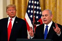 President Donald J. Trump meets Israel's Prime Minister Benjamin Netanyahu