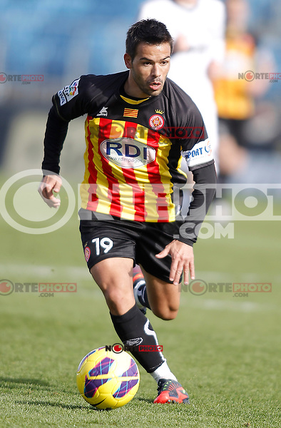 Girona's Felipe Sanchon during La Liga match. January 13, 2013. (ALTERPHOTOS/Alvaro Hernandez)