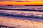 A beautiful sunrise at Revere Beach, Revere, MA, USA