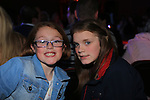 Saoirse Pender and Kayleigh McGinn.at the Mattock Rangers fashion show..Picture: Fran Caffrey / www.newsfile.ie ..