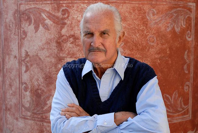 Carlos Fuentes, Mexican writer in 2011.