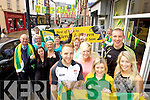 Kerry Footballers Kieran Donaghy and Darran  O'Sullivan with supporters on Wednesday ahead of the All Ireland Ticket finalKerry Footballers Kieran Donaghy and Darran  O'Sullivan with Catriona Walsh, Veronica Slattery and Joanne Lynch in Foreground with supporters in Ashe Street on Wednesday ahead of the All Ireland Ticket final
