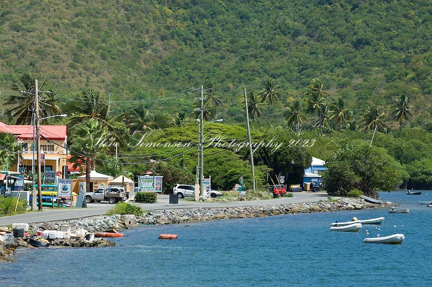 Coral Bay, St. John.U.S. Virgin Islands