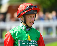 Jockey Tom Marquand during Horse Racing at Salisbury Racecourse on 15th August 2019