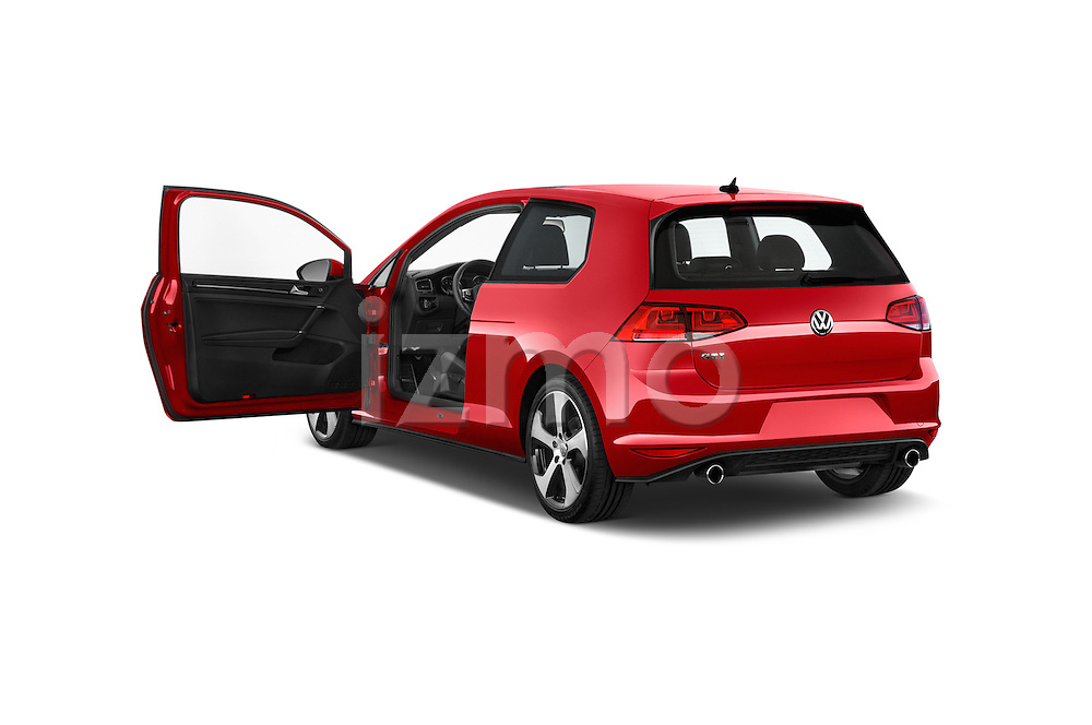 Car images of a 2015 Volkswagen GTI DSG 2 Door Hatchback Doors