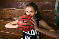 NWA Democrat-Gazette/CHARLIE KAIJO Division II Girls Newcomer of the Year Anna McCredy of Shiloh Christian poses for a portrait, Thursday, March 15, 2018 at Springdale High School auxiliary gym in Springdale