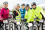 At the St Brendan's NS FENIT Coastal Cycle on Saturday were Margaret Nolan, Marcela Fynn, Willy O'Halloran, Rita McCarthy, Tony O'Sullivan