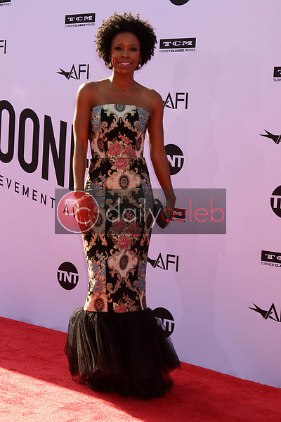 Karimah Westbrook<br /> at the American Film Institute Lifetime Achievement Award to George Clooney, Dolby Theater, Hollywood, CA 06-07-18<br /> David Edwards/DailyCeleb.com 818-249-4998