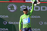 Nairo Quintana (COL) Movistar Team wins Stage 2 and takes over the points Green Jersey of La Vuelta 2019 running 199.6km from Benidorm to Calpe, Spain. 25th August 2019.<br /> Picture: Eoin Clarke | Cyclefile<br /> <br /> All photos usage must carry mandatory copyright credit (© Cyclefile | Eoin Clarke)