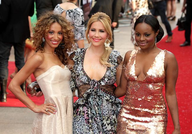 Amelle Berrabah, Heidi Range and Keisha Buchanan of Sugababes at the World premiere of 'Sex And The City' at the Odeon Leicester Square in London - 12 May 2008..FAMOUS PICTURES AND FEATURES AGENCY 13 HARWOOD ROAD LONDON SW6 4QP UNITED KINGDOM tel +44 (0) 20 7731 9333 fax +44 (0) 20 7731 9330 e-mail info@famous.uk.com www.famous.uk.com.FAM22991