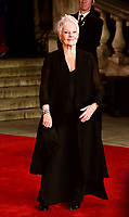 www.acepixs.com<br /> <br /> November 2 2017, London<br /> <br /> Judi Dench arriving at the world premiere of 'Murder On The Orient Express' at the Royal Albert Hall on November 2, 2017 in London, England.<br /> <br /> By Line: Famous/ACE Pictures<br /> <br /> <br /> ACE Pictures Inc<br /> Tel: 6467670430<br /> Email: info@acepixs.com<br /> www.acepixs.com