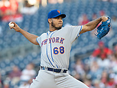 New York Mets starting pitcher Wilmer Font (68) works in the first inning against the Washington Nationals at Nationals Park in Washington, D.C. on Wednesday, May 15, 2019.<br /> Credit: Ron Sachs / CNP<br /> (RESTRICTION: NO New York or New Jersey Newspapers or newspapers within a 75 mile radius of New York City)
