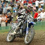 Motocross, MX2 WM 2004, Weltmeisterschaft, Grand Prix of Europe, Gaildorf (Germany) Pierre A. Renet (FRA), Yamaha