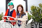 Diarmuid and Roisin Griffin enjoying the Blennervile Steam Threshing Festival on Sunday
