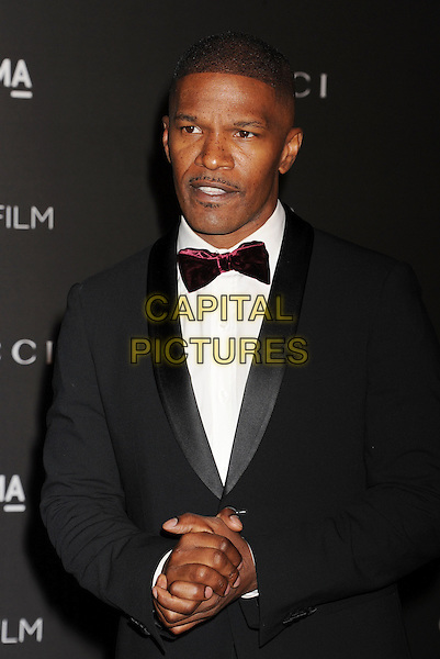 LOS ANGELES, CA - NOVEMBER 01: Actor Jamie Foxx attends the 2014 LACMA Art + Film Gala honoring Barbara Kruger and Quentin Tarantino presented by Gucci at LACMA on November 1, 2014 in Los Angeles, California.<br /> CAP/ROT/TM<br /> &copy;Tony Michaels/Roth Stock/Capital Pictures