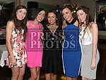 Emma Kierans celebrating her 21st birthday in The Thatch with friends Aoife Sharkey, Hollie Walsh, Sarah Kierans and Hayley Cunningham. Photo:Colin Bell/pressphotos.ie