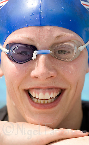 31 MAY 2008 - BUDAPEST, HUN - Mhairi Spence (GBR) - Modern Pentathlon World Championships. (PHOTO (C) NIGEL FARROW)