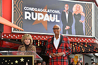 Jane Fonda &amp; RuPaul at the Hollywood Walk of Fame Star Ceremony honoring TV drag star RuPaul on Hollywood Boulevard, Los Angeles, USA 16 March 2018<br /> Picture: Paul Smith/Featureflash/SilverHub 0208 004 5359 sales@silverhubmedia.com