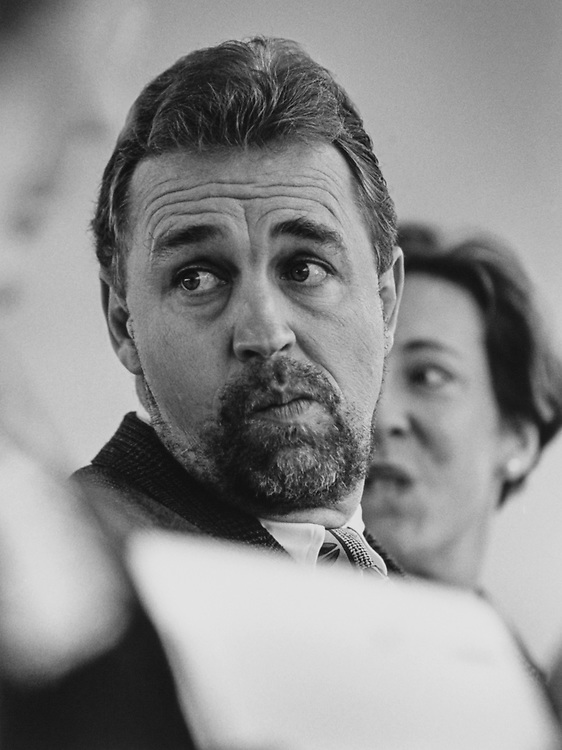 Rep. Matt Salmon, R-Ariz., sporting a new beard on March 13, 1997. (Photo by Maureen Keating/CQ Roll Call)