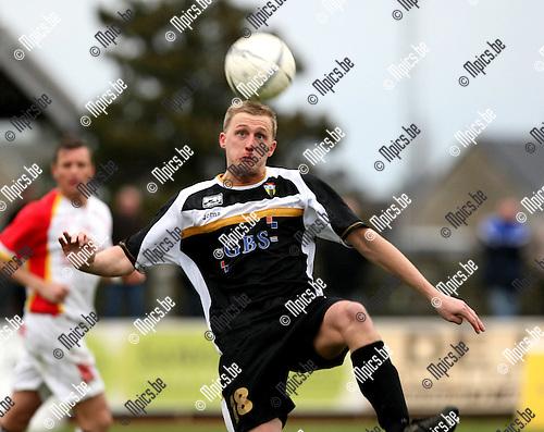 2008-12-21/ Voetbal / FC Duffel - Berchem Sport / Sven Van der Heyden (Berchem)..Foto: Maarten Straetemans (SMB)
