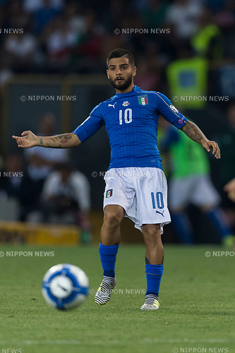 Lorenzo Insigne (ITA), JUNE 11, 2017 - Football / Soccer : FIFA World Cup Russia 2018 European Qualifier Group G match between Italy 5-0 Liechtenstein at Dacia Arena in Udine, Italy. (Photo by Maurizio Borsari/AFLO)