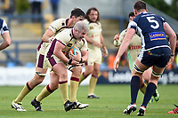 Colin Quigley of Doncaster Knights in possession. Greene King IPA Championship match, between Yorkshire Carnegie and Doncaster Knights on September 17, 2017 at Headingley Stadium in Leeds, England. Photo by: Patrick Khachfe / Onside Images