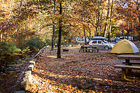 Gulpah Gorge Campground in Hot Springs National Park.