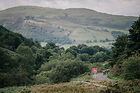 Time Trial through the magnificent Lake District National Park in Cumbria<br /> <br /> Stage 5 (TTT): Cockermouth to Whinlatter Pass (14km)<br /> 15th Ovo Energy Tour of Britain 2018