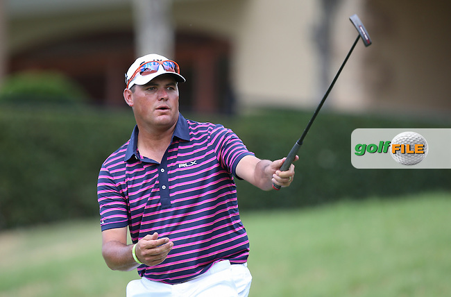 C'mon Wallie Coetsee (RSA); missing birdie on the 13th during Round Two of the Tshwane Open 2015 at the Pretoria Country Club, Waterkloof, Pretoria, South Africa. Picture:  David Lloyd / www.golffile.ie. 13/03/2015