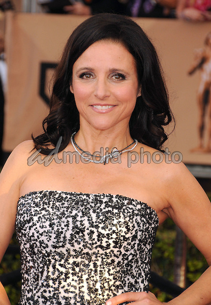 30 January 2016 - Los Angeles, California - Julia Louis-Dreyfus. 22nd Annual Screen Actors Guild Awards held at The Shrine Auditorium. Photo Credit: Byron Purvis/AdMedia