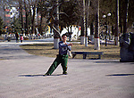 tai chi in the park<br /> Shijiazhuang, Hebei, China